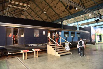 175 Jaar Spoor: SpoorParade - Binnengebied
