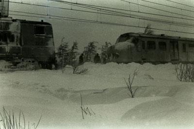 Akkrum in februari 1979