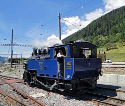 Furka Dampfbahn