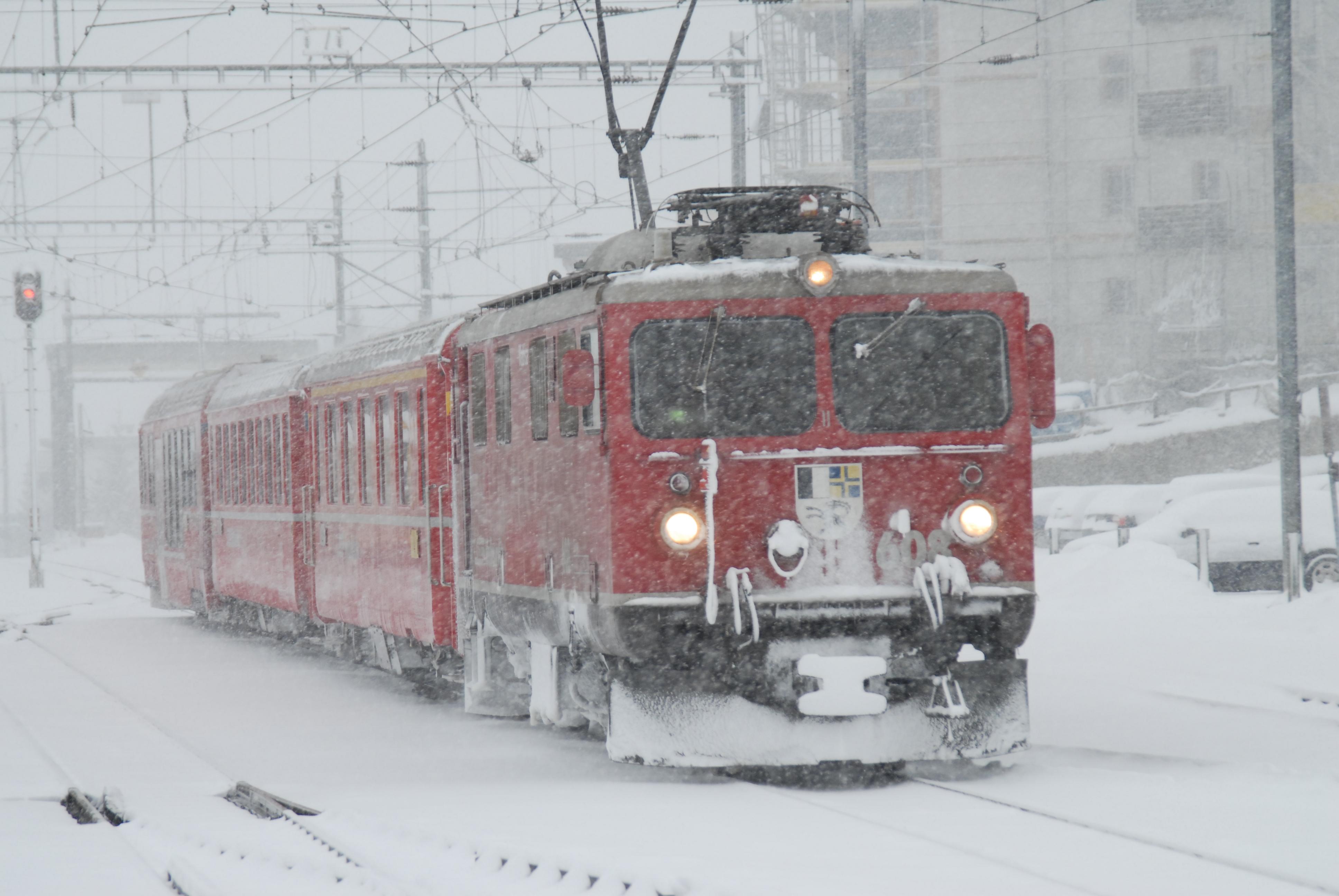 Die RhB im Winter von 2006
