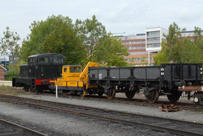 SHM: Het depot