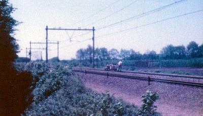 Treinkaping bij De Punt (1977)