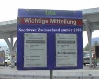 Noodweer Zwitserland zomer 2005